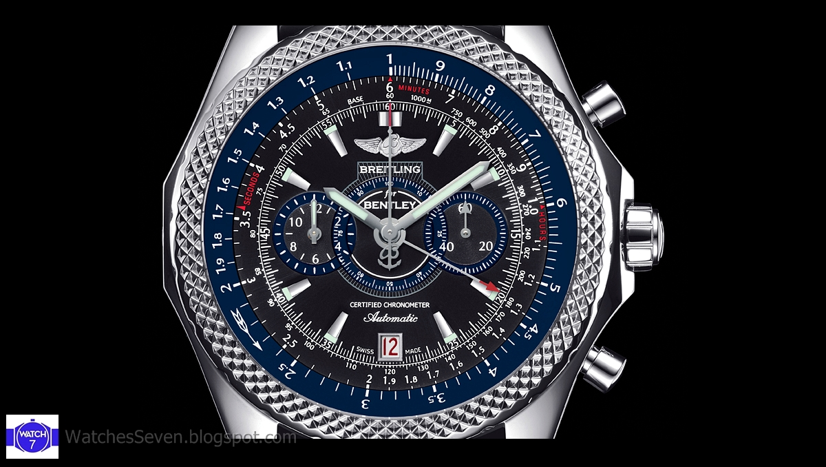 watches 7 new breitling for bentley supersports chronograph