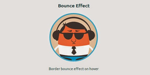 Bounce Hover Effect