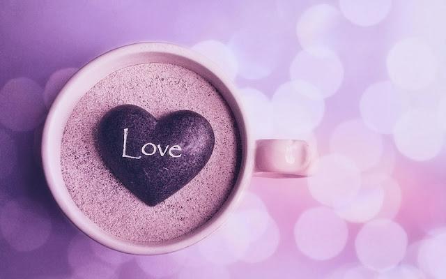 Mug In Stone Heart
