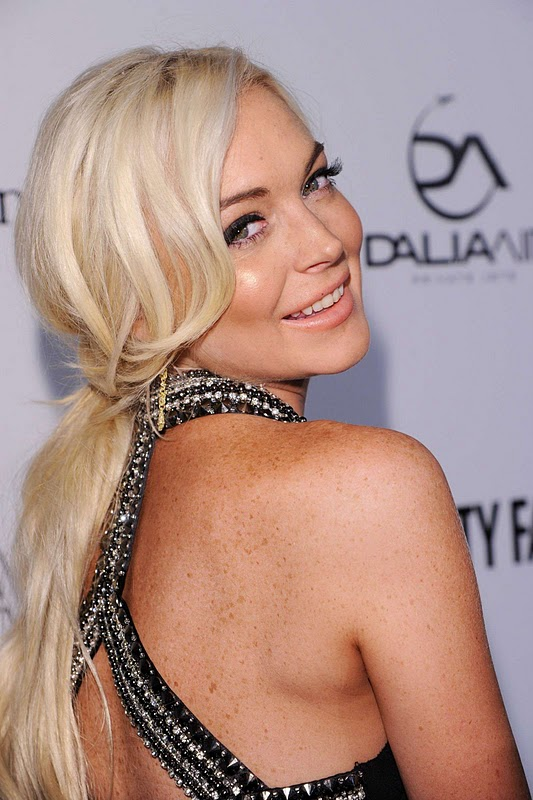 Lindsay Lohan – amfAR Milano 2011 Event