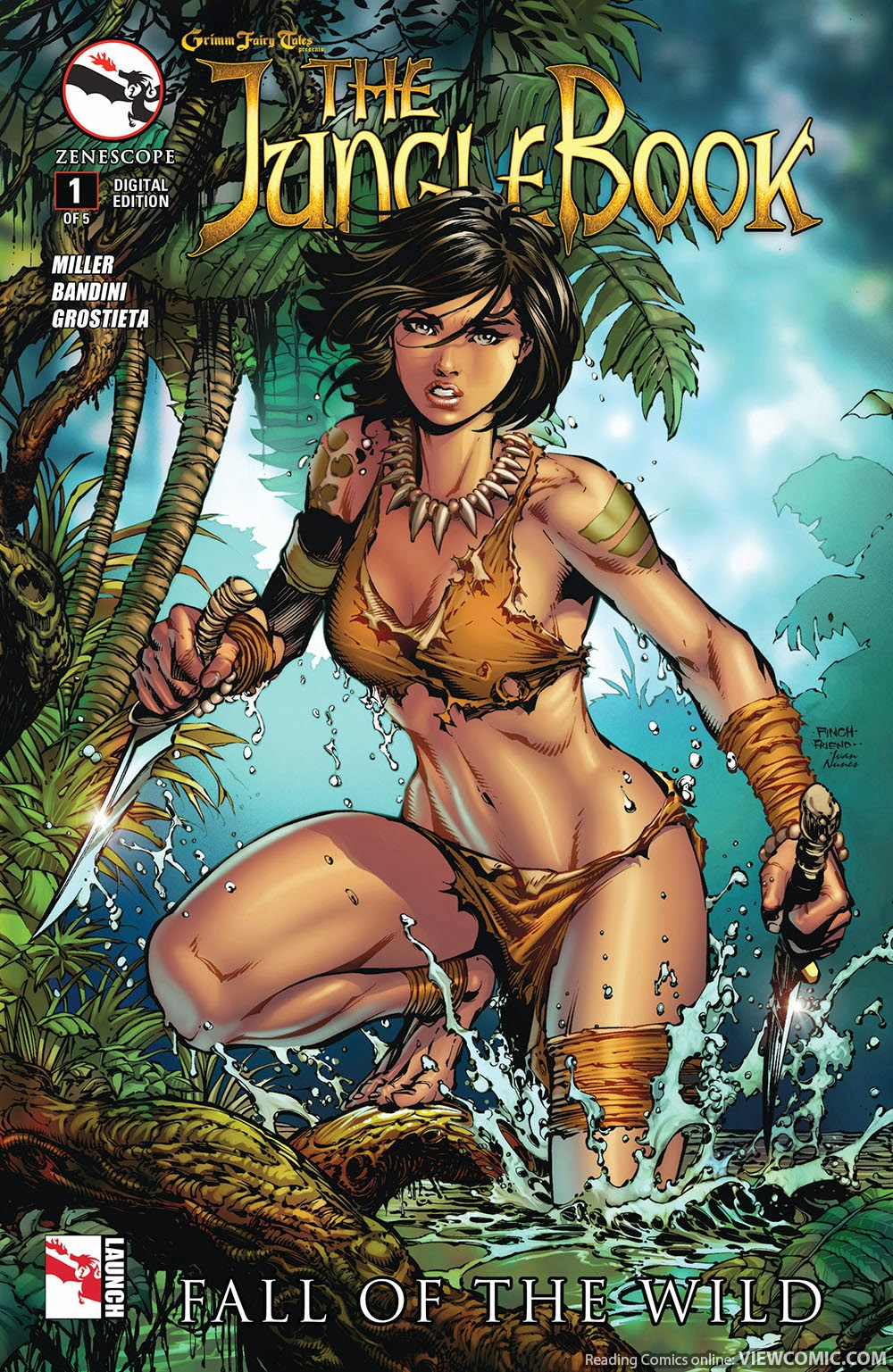 Uncategorized Online Fairy Tales grimm fairy tales presents jungle book fall of the wild 001 2014