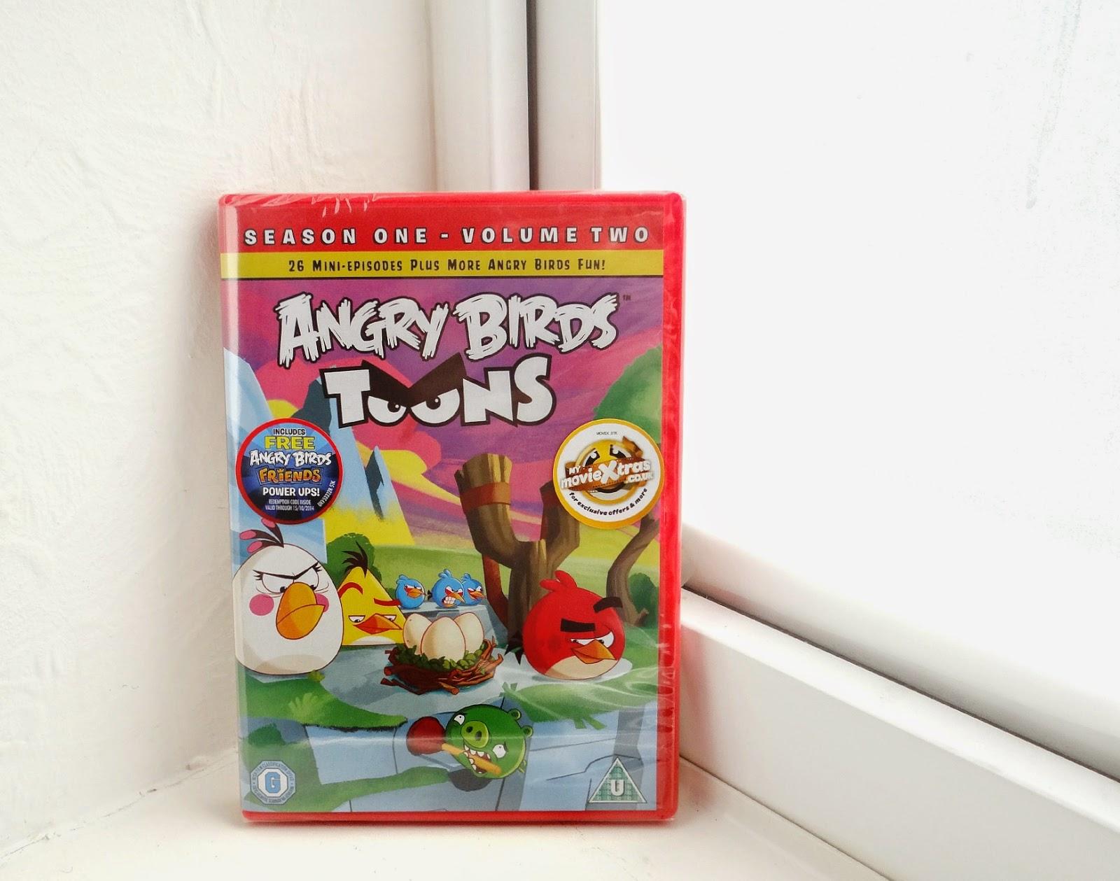 Angry Birds Toons, Angry Birds DVD, Angry Birds 3D Book