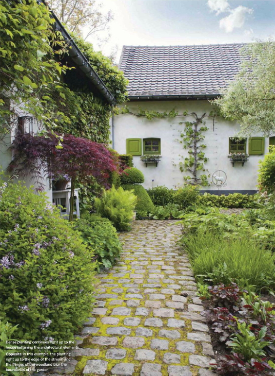 Los jardines rom nticos de dina deferme for Jardines romanticos