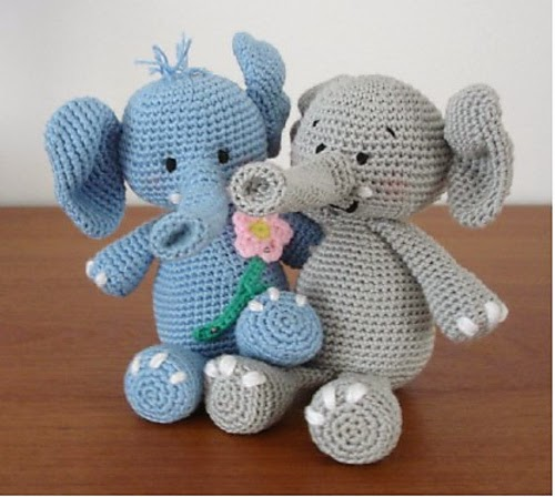 Happy Save The Elephant Day 20 Free Elephant Crochet Patterns