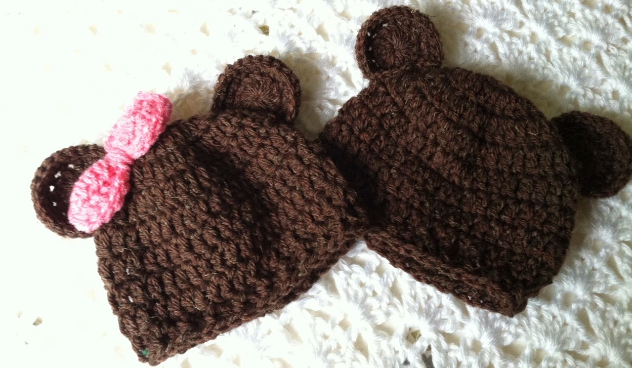 Lakeview Cottage Kids: Mr. and Miss Brownie Bear Crochet ...