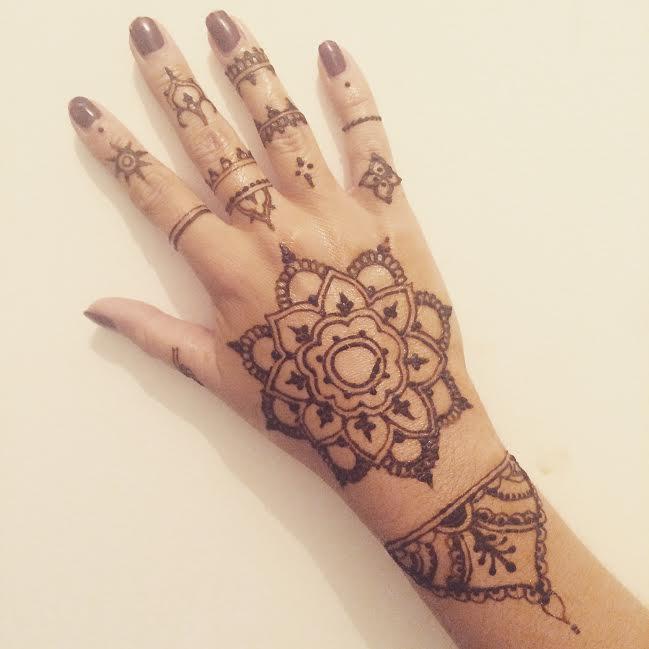 Massilia henna - Dessin henne main facile ...