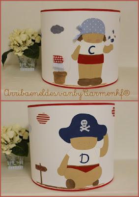 pantallas-infantiles-pintadas-mano-piratas