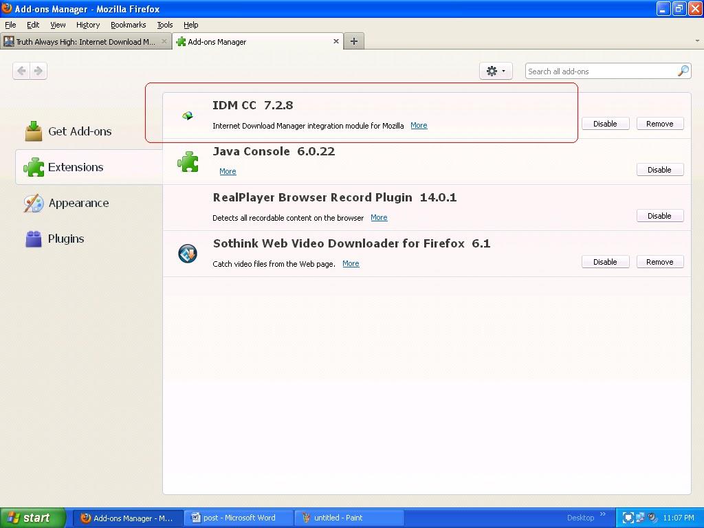 idm firefox integration module