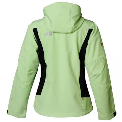 Womens North Face Redpoint Goretex Jackets Green