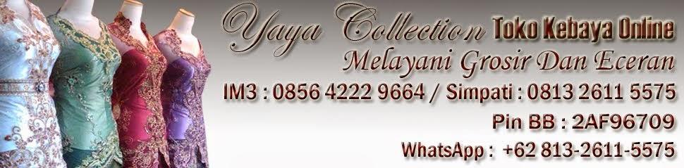Yaya Collections Toko Online Kebaya Modern