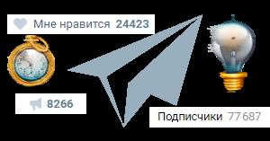 Лайки, подписчики, репосты вконтакте groupuvk