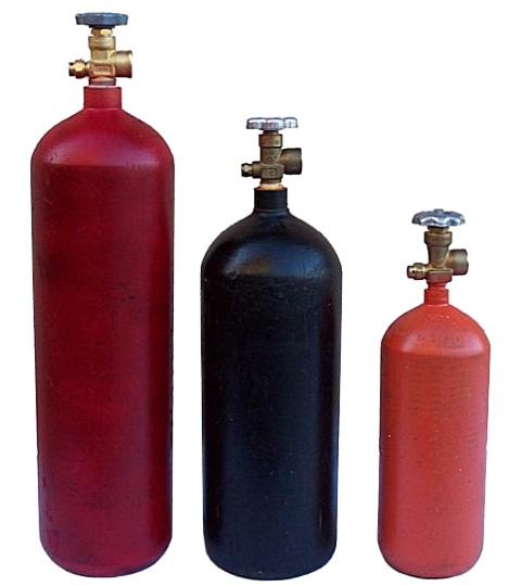 Helium flasker