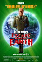 Escape from Planet Earth William Shatner Poster