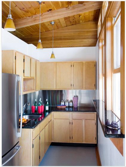 Dise o de cocina peque a con ideas y fotos construye hogar Como hacer una cocina integral en casa