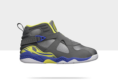Air Jordan Retro 8 (10.5c-3y) Pre-School Girls' Shoe 580529-037