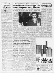 LA STAMPA 8 OTTOBRE 1972