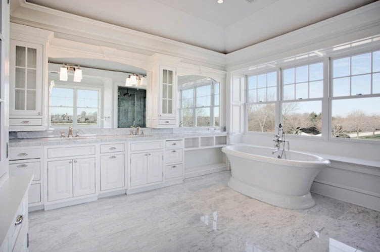 White House Master Bathroom A Large Bath