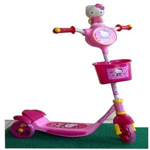 Skuter Hello Kitty Besar (Musik-Lampu) harga murah - Toko Online .