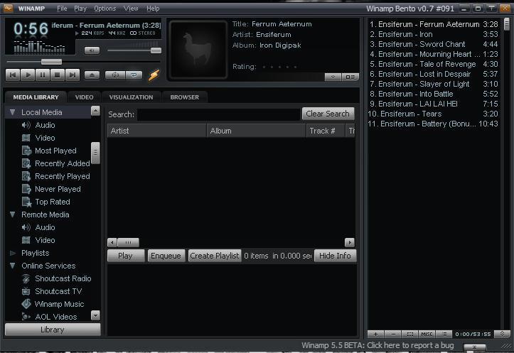 BLOG PENDIDIKAN: Winamp Terbaru 2011 free download