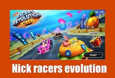 nick racer evolution-jogo de corrida de kart que roda no browser