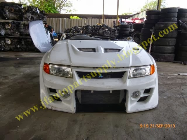 auto parts: SOLD - EVO 5 - Front And Rear Half Cut