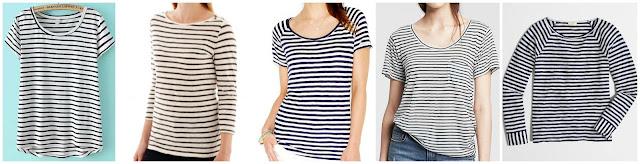 Romwe Short Sleeve Striped Dip Hem T-Shirt $10.83 (regular $21.28)  Stylus 3/4 Sleeve Striped Boatneck T-Shirt $14.99 (regular $26.00)  Maison Jules Striped Cuffed Tee $14.99 (regular $24.50)  Banana Republic Striped Modal Pocket Tee $22.99 (regular $39.50) get it in gray for only $12.99!  J. Crew Factory Long Sleeve Flip Striped Tee $24.50 (regular $42.50)