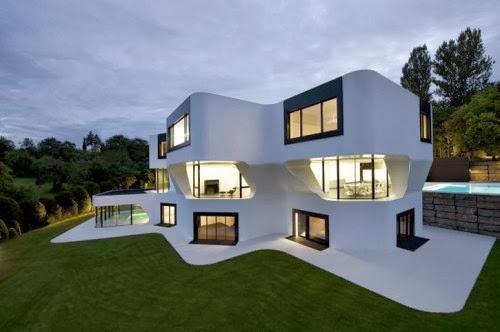 Rumah Minimalis Bergaya Eropa