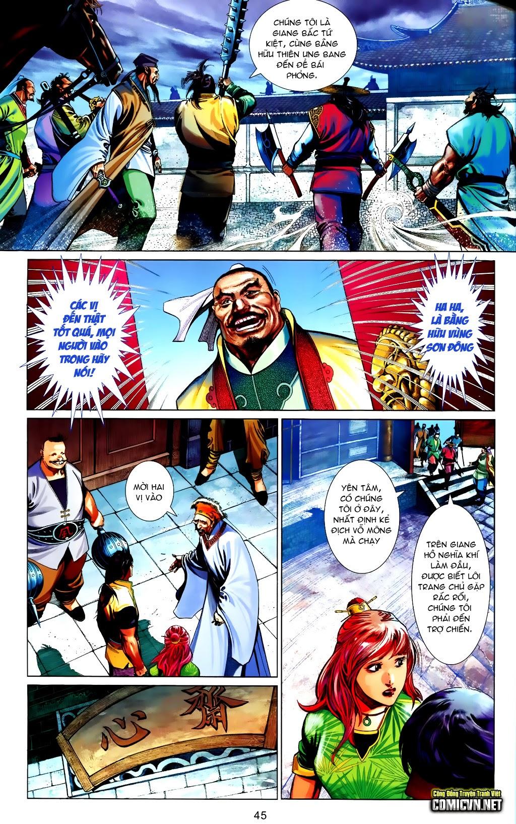 Phong Vân Chap 663 - Trang 45