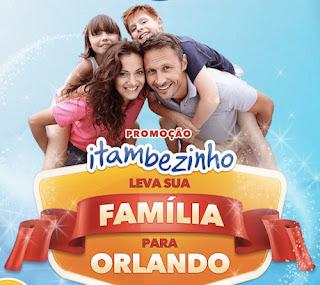 Promoção Itambé leva sua família para Orlando