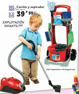 carrito aspirador juguete