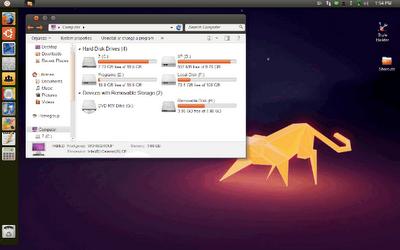 Download Ubuntu Transformation Pack 8.0 Theme For Windows 7