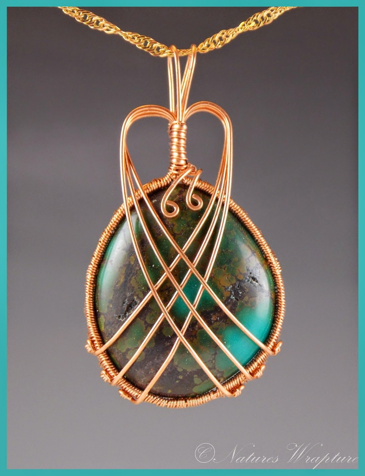 Wire Wrapped Turquoise Trusted Wiring Diagram Handmade Sterling Silver Wrap Dragon Eye Jewelry By Jandsgems Natureswrapture In Copper Pendant Stone Designs