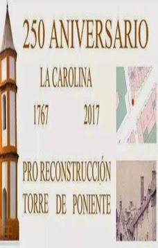 Pro reconstrucción Torre de Poniente para el 250 aniversario