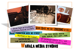 Wahala Media Studios in Ikoyi - Call 0809 4848 096