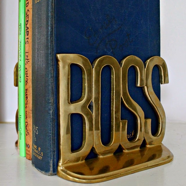 #thriftscorethursday Week 38 | Instagram user: sarah_702parkproject shows off this Boss Brass Book End