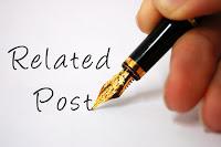Cara membuat Related Posts | artikel terkait dibawah posting