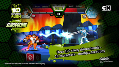 download game Ben 10 Ultimate Alien Xenodrome Si Pembasmi Alien