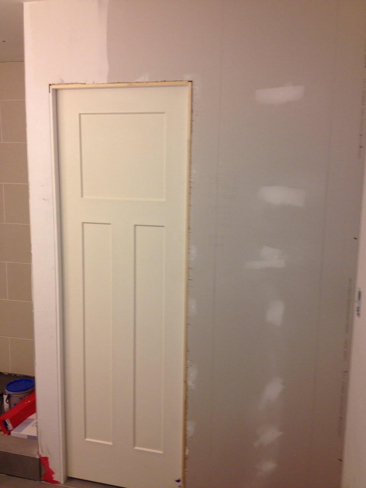 Pocket Door Trim Out 1200 x 1600