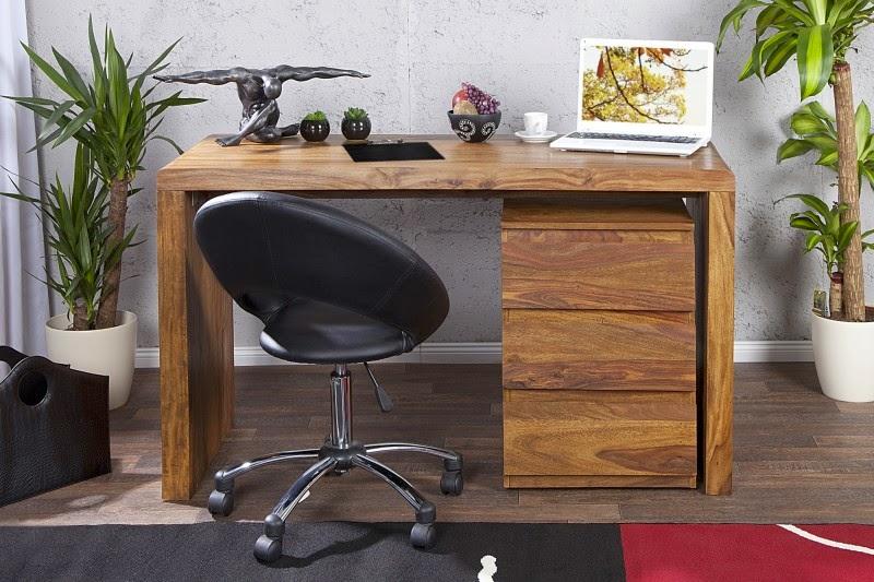 pracovn stolik na pisanie, masivny nabytok, pracovny stolik