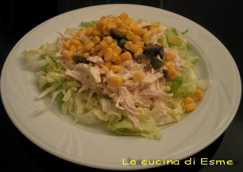 La cucina di esme insalata di pollo e mais - La cucina di esme ...