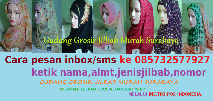 Gudang Jilbab Murah Surabaya