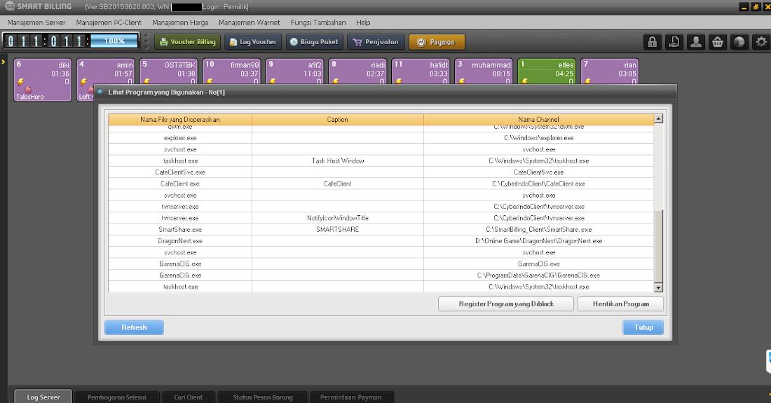 Update Terbaru Smart Billing Server Versi SB20150626.003 Banyak Masalah