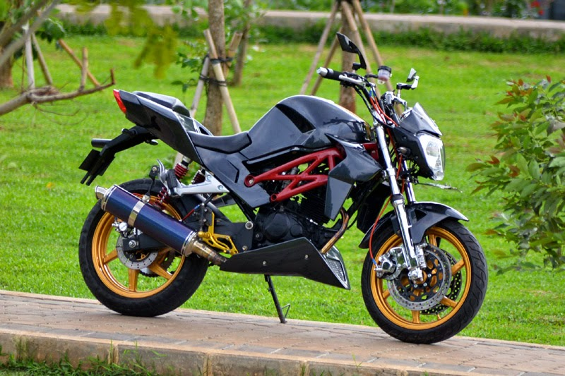 Modifikasi Motor Tiger