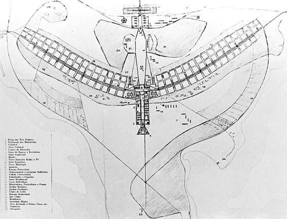 brasilia city plan ile ilgili görsel sonucu
