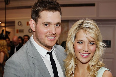 Michael+Buble+and+Luisana+Lopilato