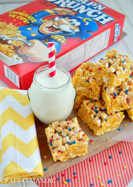 Captain Crunch Bars www.craft-o-maniac.com