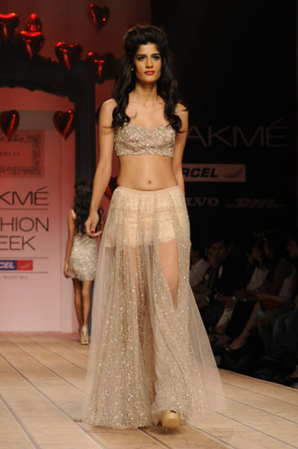 Shehla Khan creation for LFW 2013