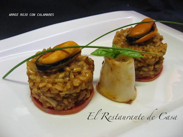 Calamares con arroz cocinar en casa es for Cocinar 7 mares