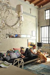 cama sofa estilo moderno e despojado