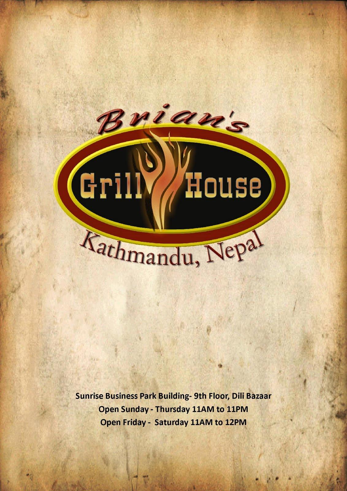 mr smith goes to kathmandu making a menu in nepal
